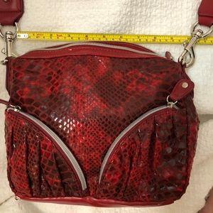 Sandra Roberts Red CrossBody Bag